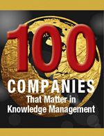 eGain Knowledge+AI is in the KMWorld 100 Companies That Matter in Knowledge Management 2017 list