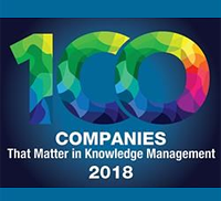 100 Companies That Matter in Knowledge Management 2018