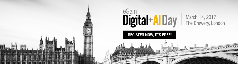 eGain Digital+AI Day 2017  |  The Brewery, London