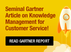 Knowledge Management Is Key to Your Customer Self-Service Strategy