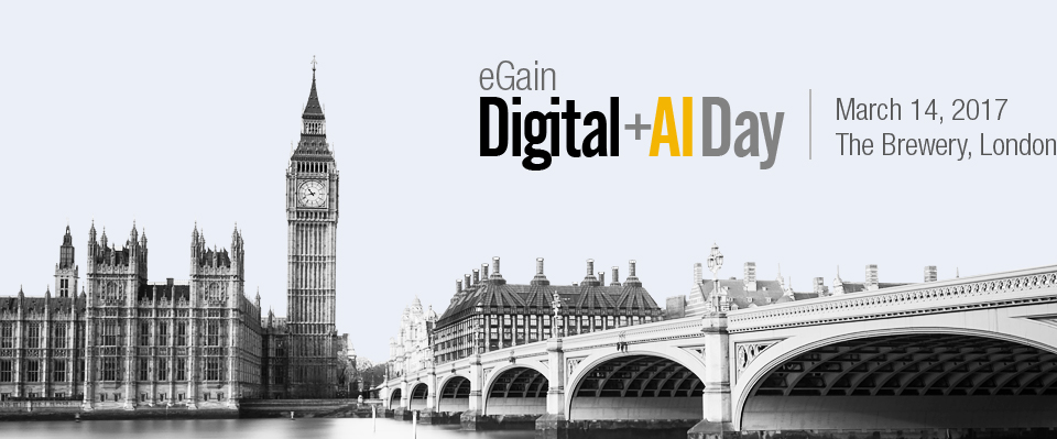 eGain Digital+AI Day 2017 | London