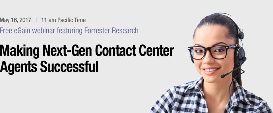 Webinar | Making Next-Gen Contact Center Agents Successful