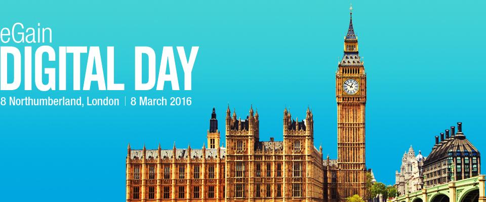 eGain Digital Day | London