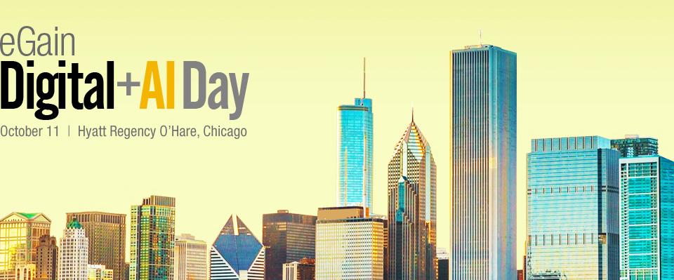 eGain Digital+AI Day 2016 | Chicago