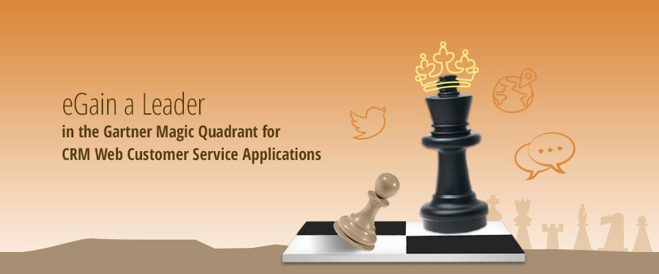 eGain a Leader in Gartner MQ