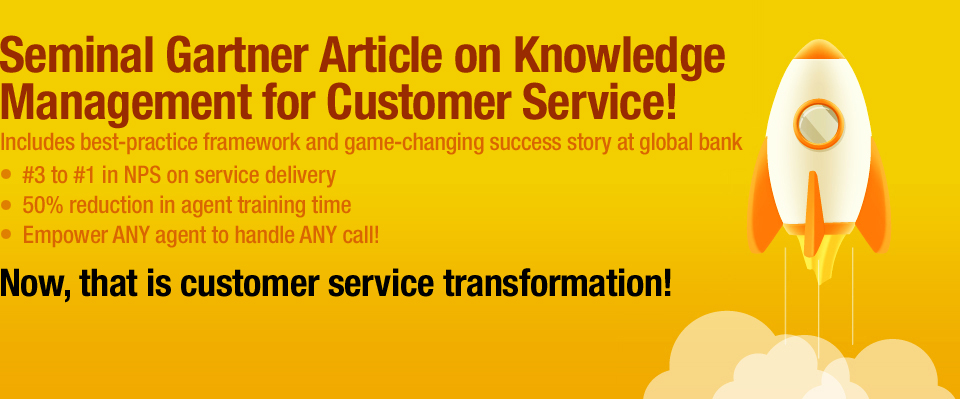 Seminal Gartner Article on Knowledge 
