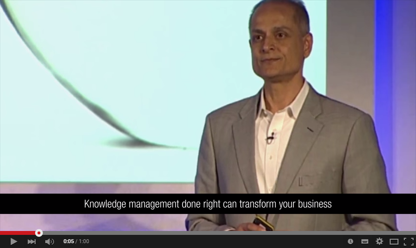 Knowledge transforms core business metrics