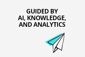 New agent desktop guided by AI, knowledge, analytics