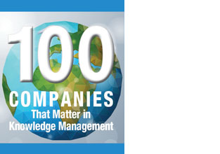 "eGain in KMWorld's ""100 Companies that Matter in Knowledge Management"" list for 10th year"