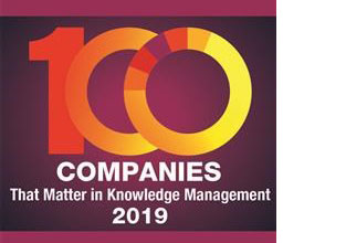 eGain in KMWorld 100 Companies That Matter in Knowledge management list