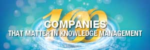 eGain named in the 100 Knowledge Management Companies That Matter 2021 list