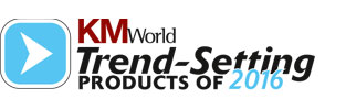 KMWorld trend-setting products of 2016