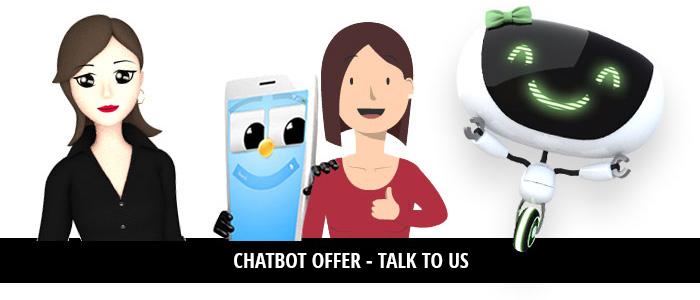Chatbot offer - Talk to us