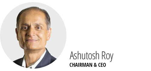 Ashutosh Roy, Chairman & CEO