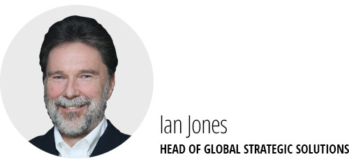 Ian Jones, Head of Global Strategic Solutions