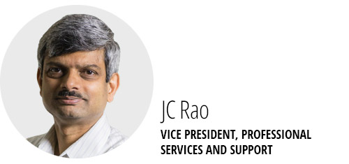 JC Rao. VP, Professional Services & Support