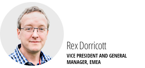 Rex Dorricott, VP & General Manager, EMEA