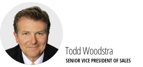 Todd Woodstra, SVP Sales