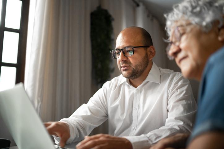 Digital assistance at home for older demographic
