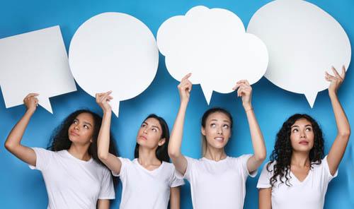 Customers talk on social media