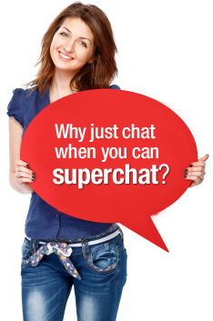 Chat is now superchat - videos, emojis, gifs, rich